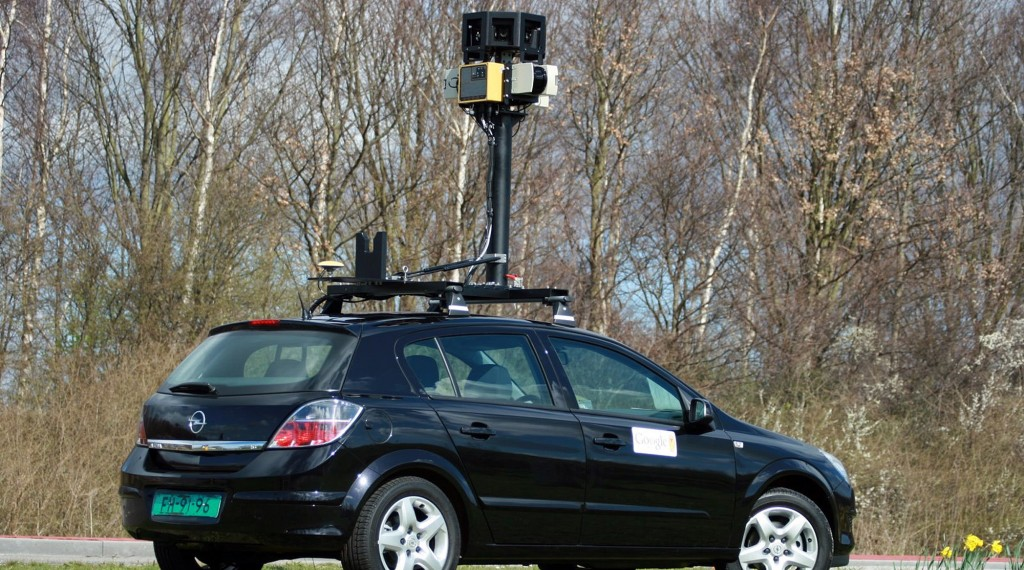An undated file photo provided by Google shows one of their street-mapping cars. (AP Photo/Google, file)