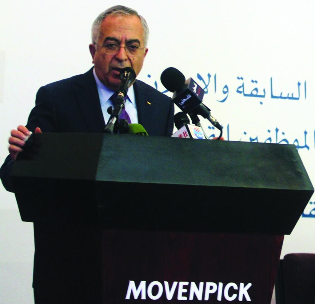 Palestinian Authority Prime Minister Salam Fayyad. (Flash90)
