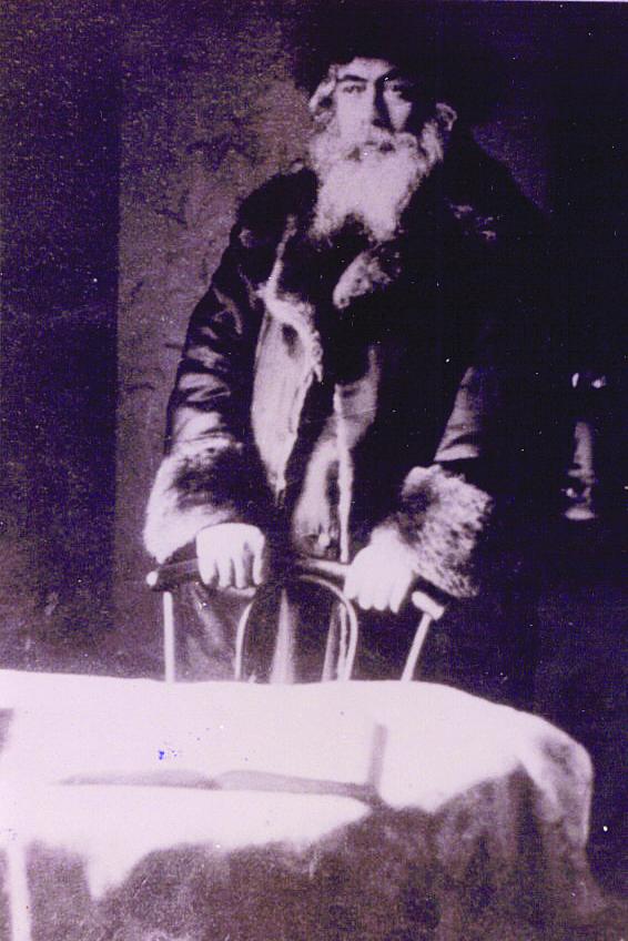 "Harav Eliezer Chaim Rabinowitz,  the Yampole Rebbe, zt""l."