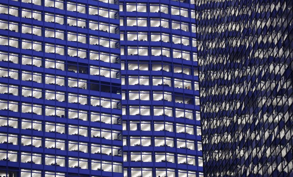 Goldman Sachs's headquarters in New York. (AP Photo/Mark Lennihan, File)