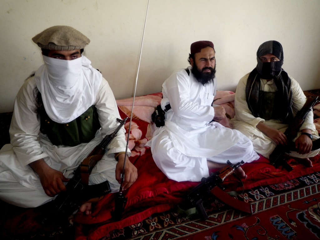 In this July 28, 2011 photo, Taliban No 2 commander Waliur Rehman talks to the Associated Press during an interview in Shawal area of South Waziristan along the Afghanistan border in Pakistan. (AP Photo/Ishtiaq Mahsud, File)