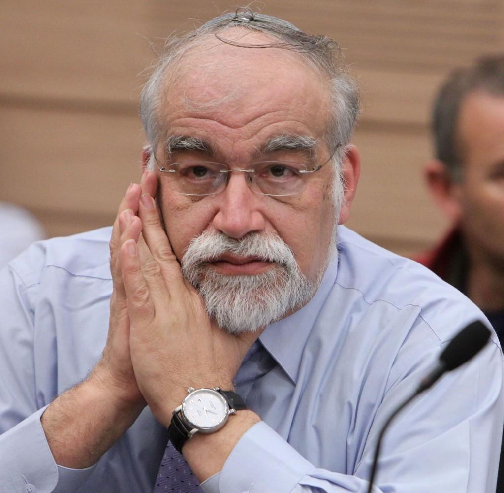Yisrael Beiteinu MK David Rotem. (FLASH90)