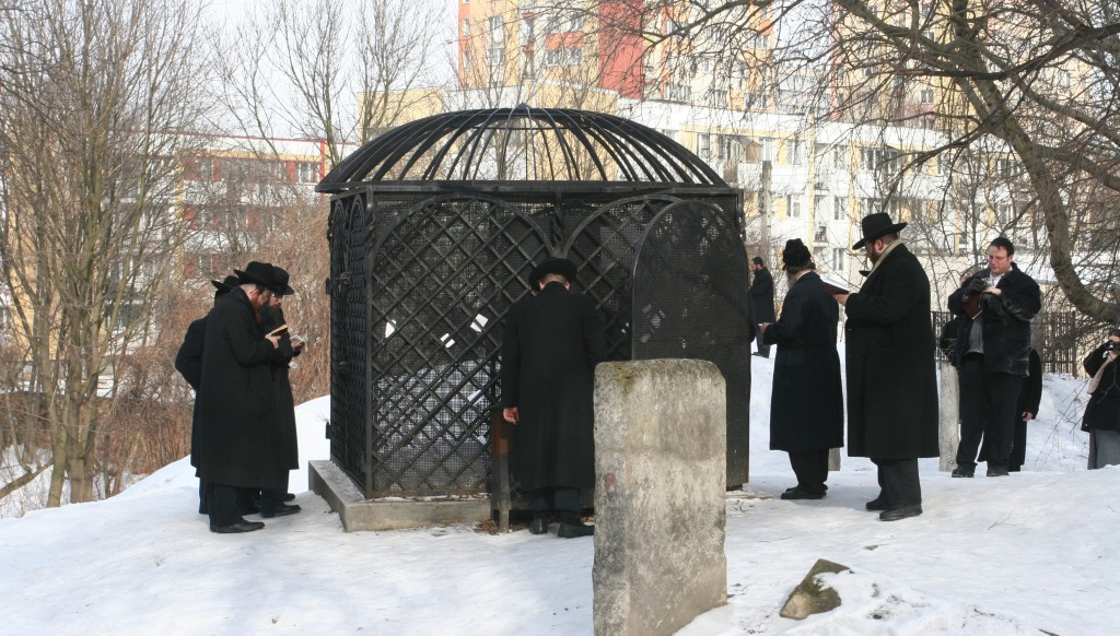 The kever in Lublin of the paternal grandfather of Harav Eliezer of Neustadt,  the Chozeh of Lublin.