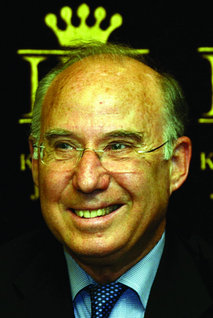 Professor Jacob A. Frenkel, nominee for Governor of the Bank of Israel. (Anna Kaplan/ Flash 90)