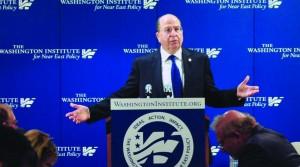 Speaking at the Washington Institute.