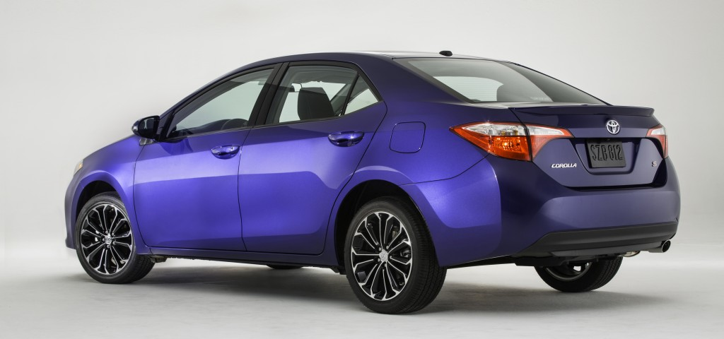This undated product image provided by Toyota shows the company's new Corolla, revealed Thursday, in Santa Monica, Calif. (AP Photo/Toyota)