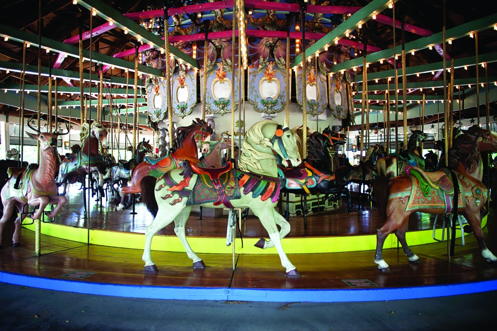 The 1910 Forest Park Carousel in Queens. (AP Photo/NYC Landmarks Preservation Commission, Christopher D. Brazee)