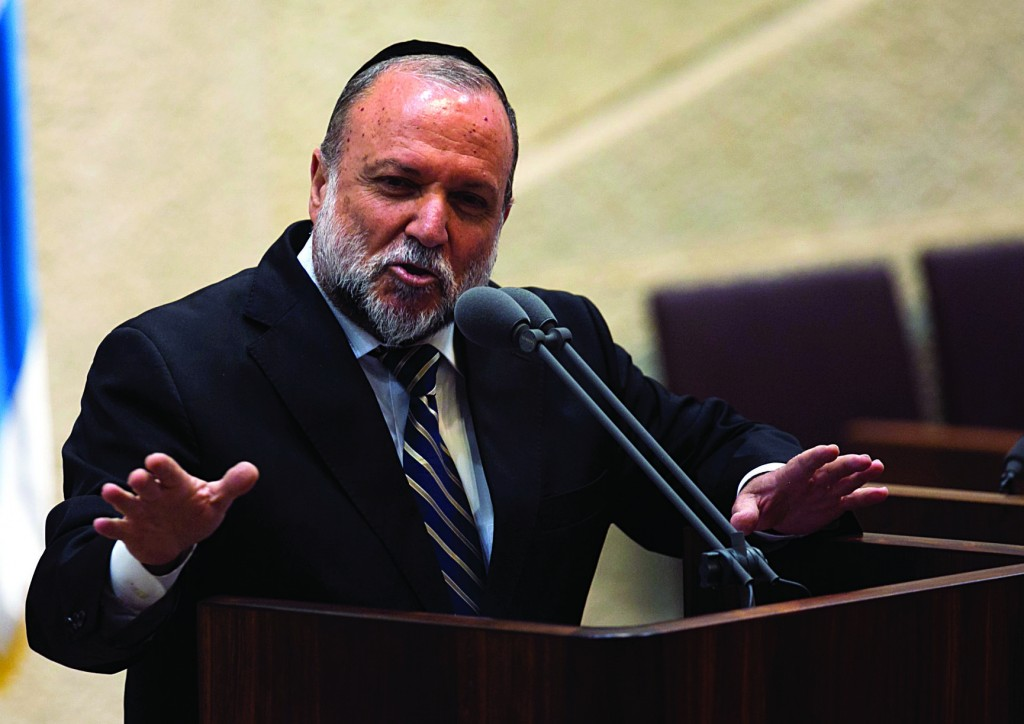 Shas MK Yitzchak Cohen was voted onto the committee that selects Israel's High Court judges. (Yonatan Sindel/Flash90)