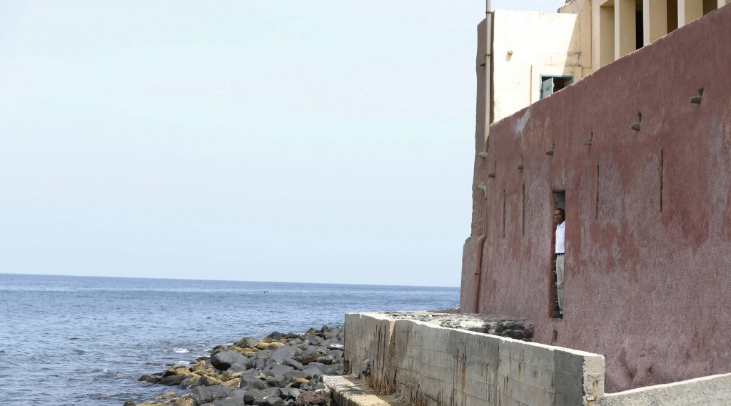 The Maison Des Ecslaves, the point where African slaves were shipped west, at Goree Island near Dakar, Senegal. President Obama was in Dakar Thursday as part of a weeklong trip to Africa. (REUTERS/Jason Reed)