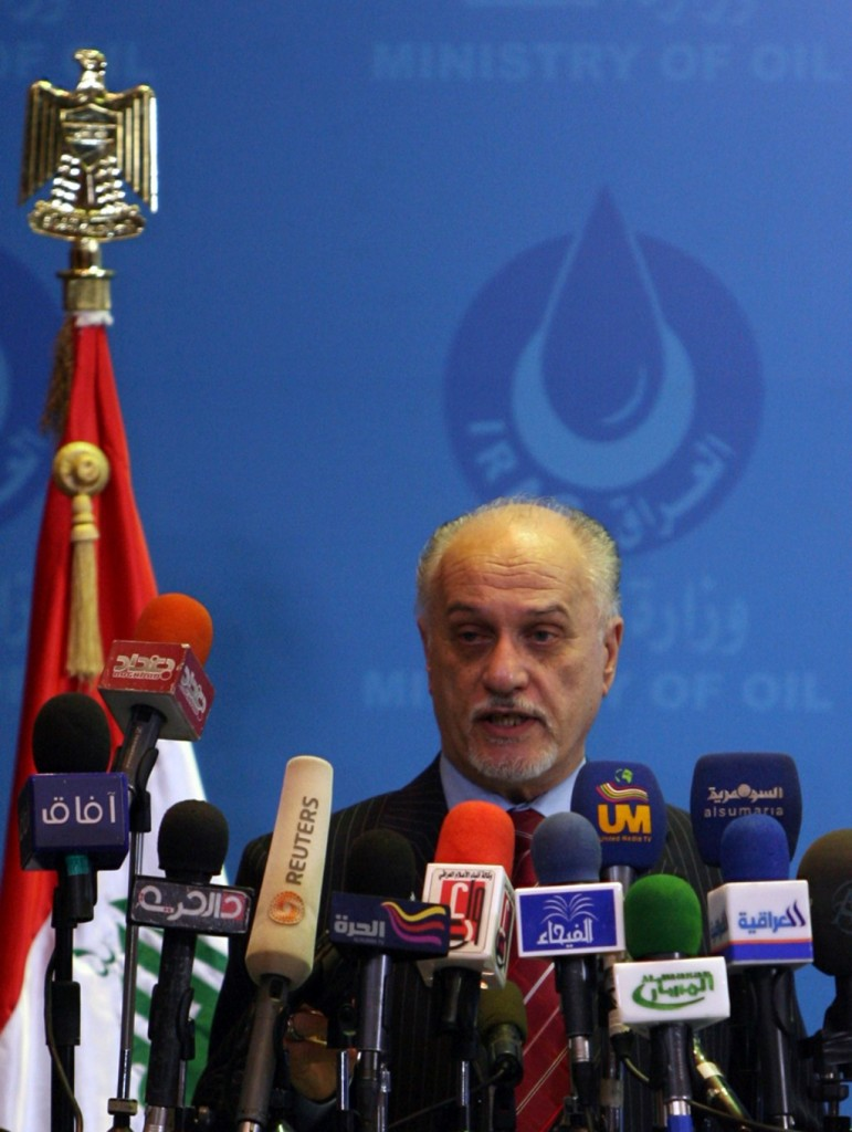 Iraq's deputy prime minister for energy affairs Hussein al-Shahristani. (ALI AL-SAADI/AFP/Getty Images)