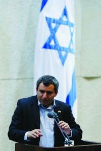 Likud MK Zeev Elkin. (Miriam Alster/FLASH90)