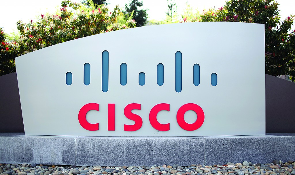 Cisco Systems has invested $15 million in Palestinian tech start-ups and training programs. (Justin Sullivan/Getty Images)