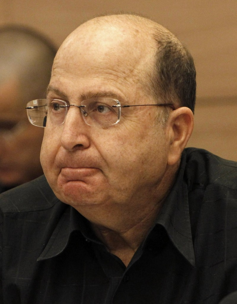 Defense Minister Moshe Yaalon (Flash 90)