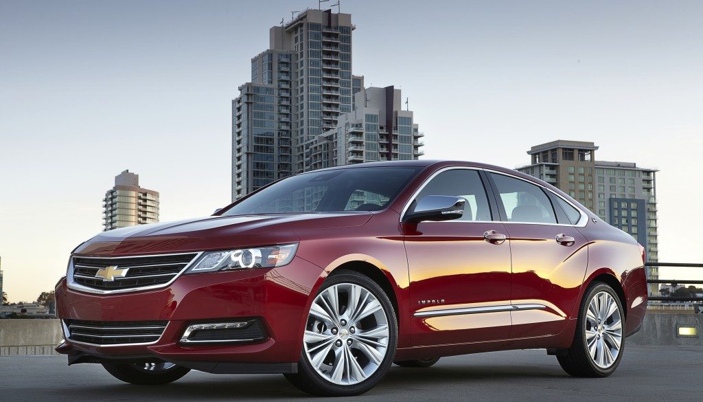 This undated photo, provided by Chevrolet, shows the 2014 Chevrolet Impala LTZ. (AP Photo/Chevrolet)
