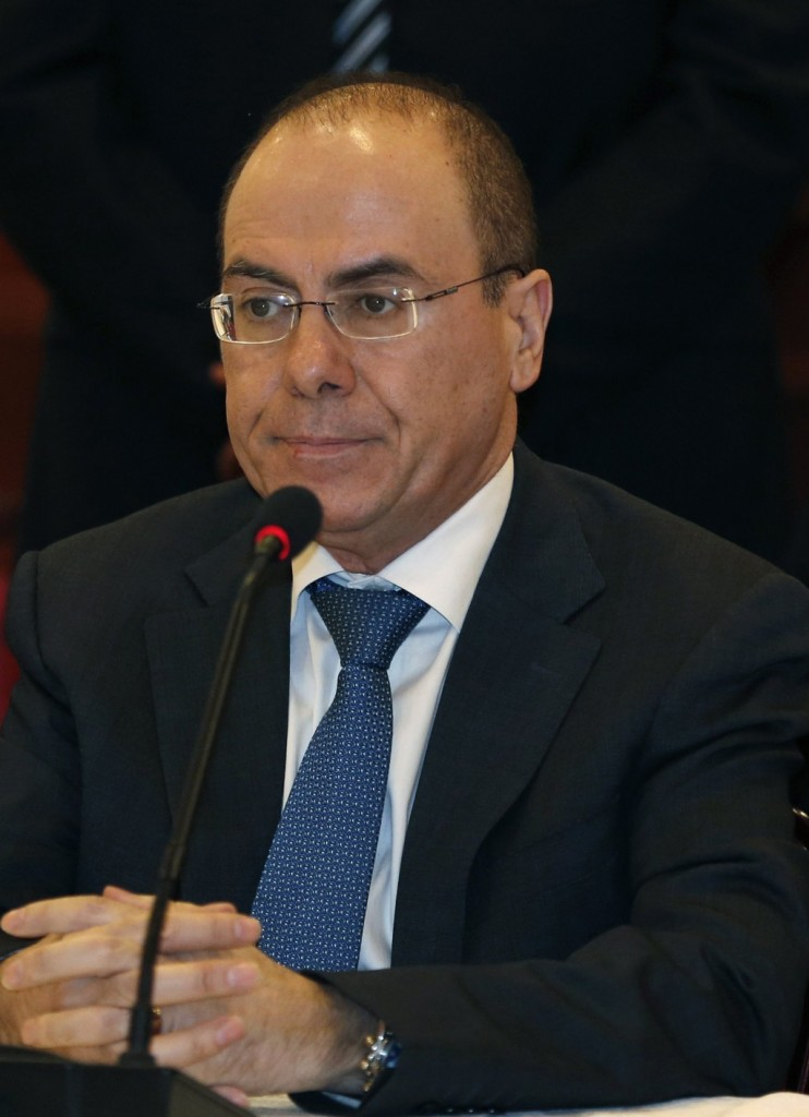 Israeli Energy Minister Silvan Shalom said on Thursday that U.S.-sponsored peace talks with the Palestinians could begin next week. (REUTERS/Mohamad Torokman)