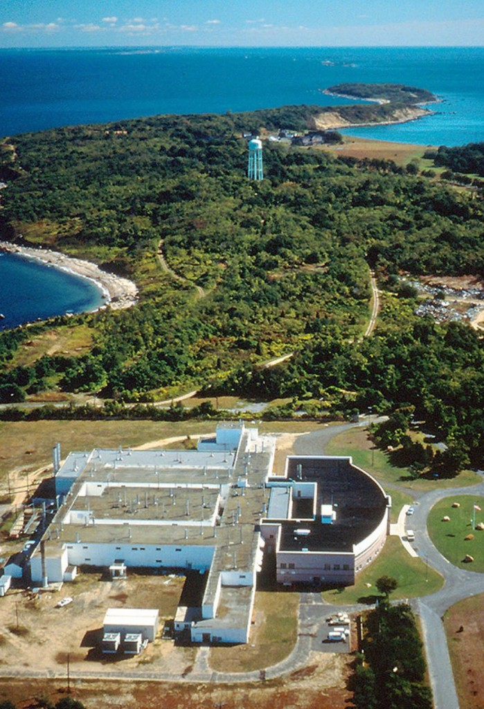 In this undated photo provided by the Agricultural Research Service of the Department of Agriculture, Plum Island Animal Disease Center, off the coast of New York's Long Island, is shown. (AP Photo/ARS-USDA)