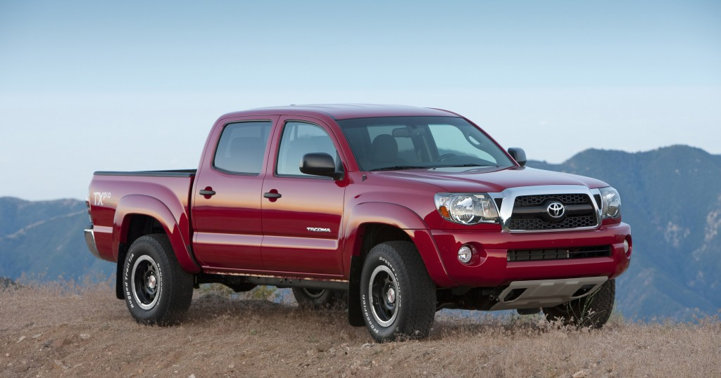 This undated picture made available by Toyota shows the 2011 Toyota Tacoma. (AP Photo/Toyota)