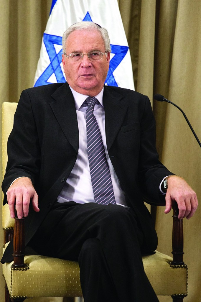 Dr. Yitzchak Kadman, head of the National Council on Children's Welfare. (Uri Lenz/Flash 90)