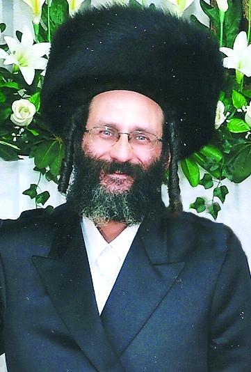 "Rav Yosef Weisel, z""l"