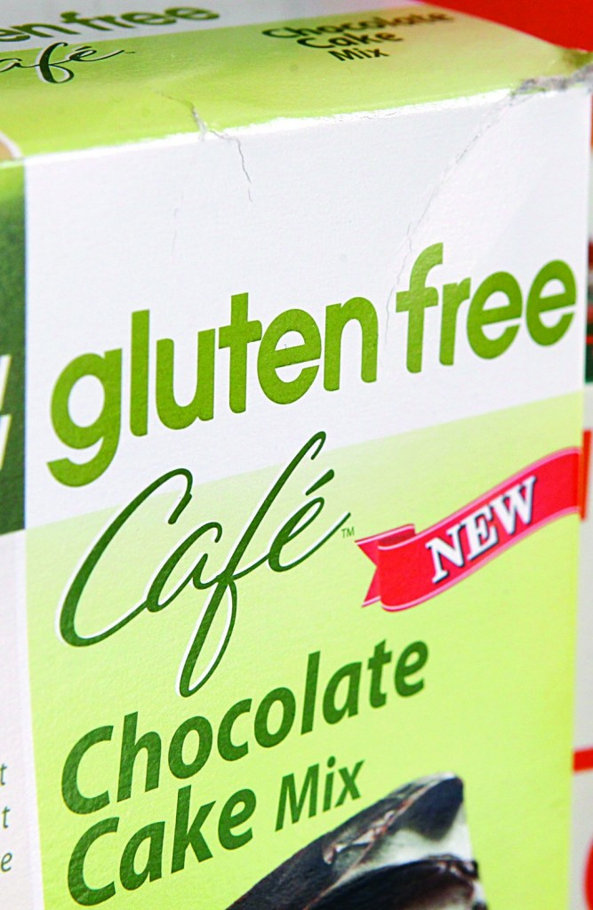 "An example of a food labeled ""gluten-free,"" as displayed in Frederick, Md., on Friday. (AP Photo/Jon Elswick)"
