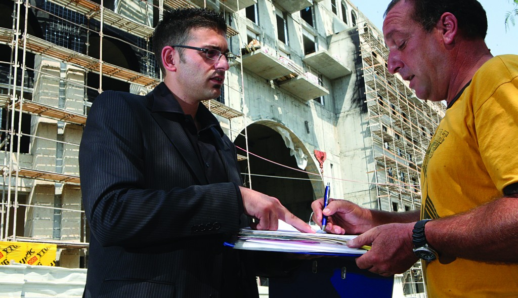 The dispute at First International comes against a backdrop of a booming mortgage market. (Yossi Zamir/Flash90)