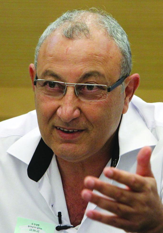Shlomo Maslawi, Tel Aviv city councilman and resident of the Hatikvah neighborhood in south Tel Aviv where many Sudanese refugees reside. (Miriam Alster/FLASH90)