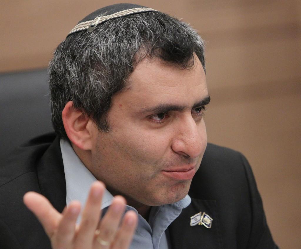 Deputy Foreign Minister Zeev Elkin (Likud).(Miriam Alster/FLASH90)