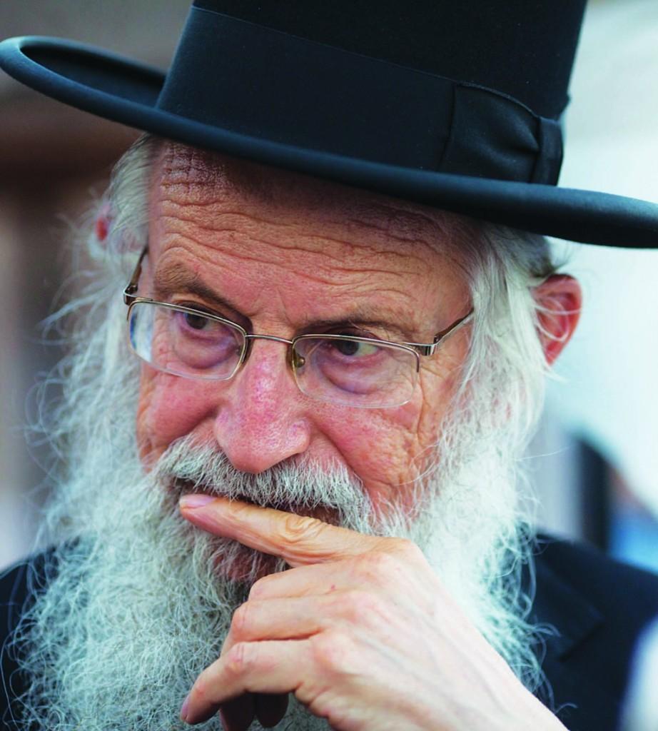 Rabbi Zalman Melamed, head of the yeshivah at Beit El. (Yonatan Sindel/Flash90)