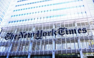 The New York Times building in Manhattan. (shutterstock)