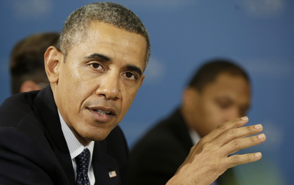 Obama administration campaign to respond to chemical weapons attacks reportedly carried out by the regime of President Bashar Assad. (AP Photo/Pablo Martinez Monsivais)