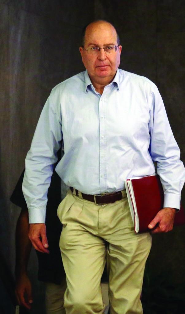 Israeli Defense Minister Moshe Yaalon. (Marc Israel Sellem/POOL/FLASH90)