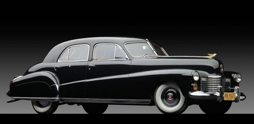 A 1941 Cadillac owned by the Duke and Duchess of Windsor. (AP Photo/Sotheby's)