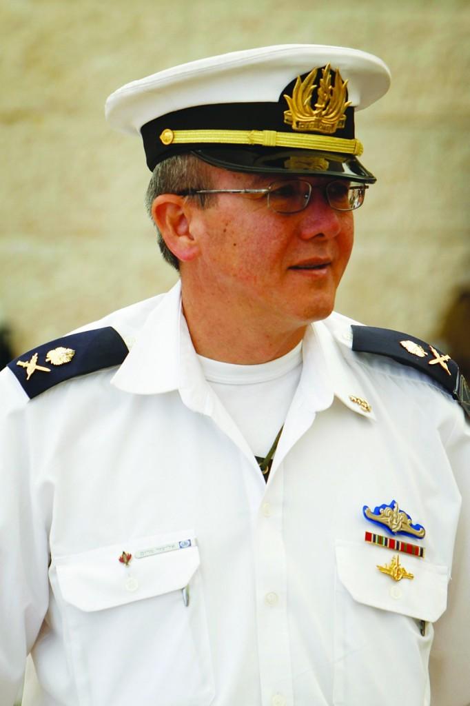 Former Commander of the Israeli Navy, Major-General Eliezer Marom, in May 2011. (Miriam Alster/FLASH90)