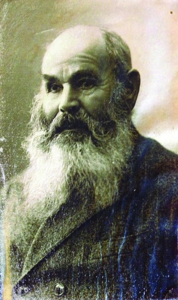 Mrs. Goldie Steinberg's father, Chazkel Garfunkel