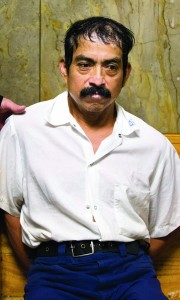 Conrado Juarez, the confessed killer of Baby Hope, waits to be arraigned at Manhattan Criminal Court. (AP Photo/John Minchillo)