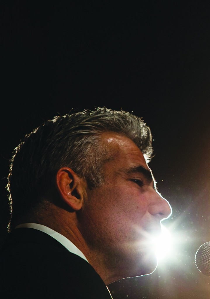 Israel's Minister of Finance Yair Lapid. (Flash 90)