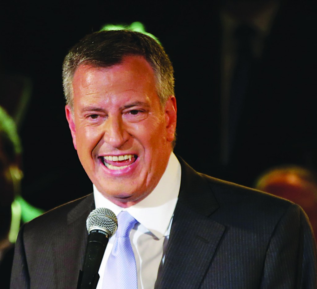 Bill de Blasio, the Democratic candidate for NYC mayor. (AP Photo)