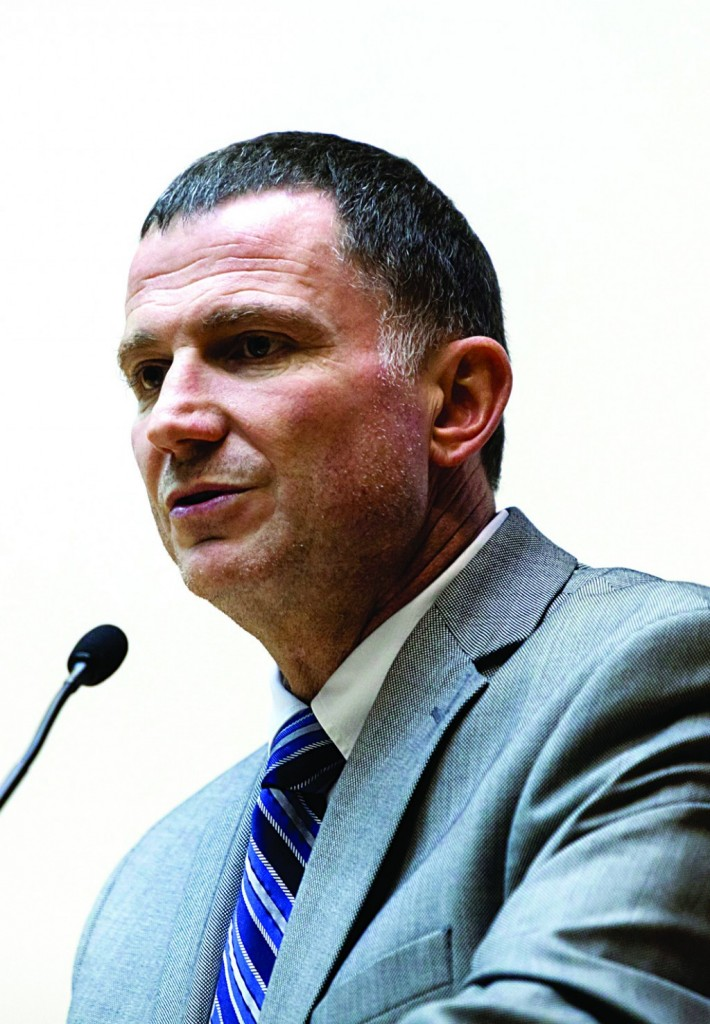 Speaker of the Knesset Yuli Edelstein predicted prisoner release will lead to more terror. (Flash 90)