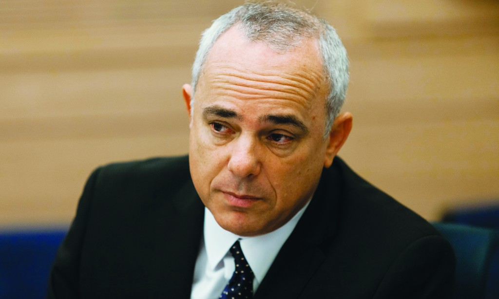 Israel's Minister of International Relations and Minister of Strategic Affairs Yuval Steinitz believes the Foreign Ministry portfolio is his if Lieberman is out. (Flash90)