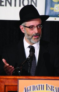 Rabbi Chaim Dovid Zwiebel, Executive Vice President, Agudath Israel of America.