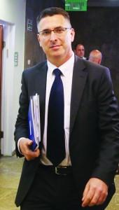 Israeli Minister of Internal Affairs Gideon Saar. (Marc Israel Sellem/POOL/FLASH90)