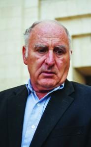 Meir Eindor, director of the Almagor Terror Victims Association. (FLASH90)