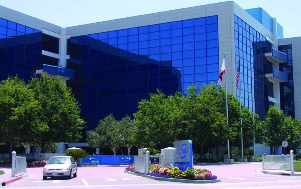 Intel headquarters in Santa Clara, California.