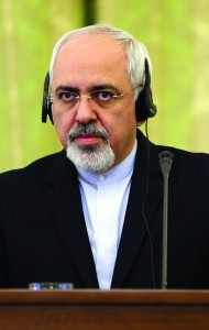 Iranian Foreign Minister Mohammad Javad Zarif, attends a press conference in Tehran, Iran, Sunday. (AP Photo/Vahid Salemi)