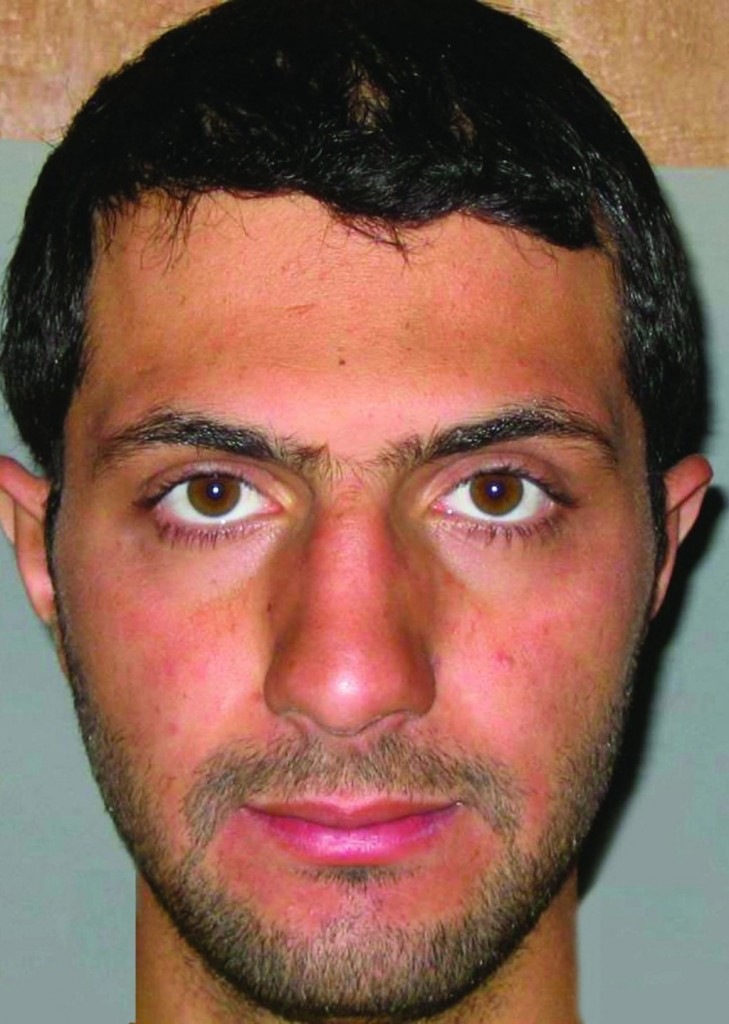 This undated photo provided by Iraqi government intelligence officials on Wednesday shows Nusra Front leader Abu Mohammed al-Golani. (AP Photo/Iraqi Government)