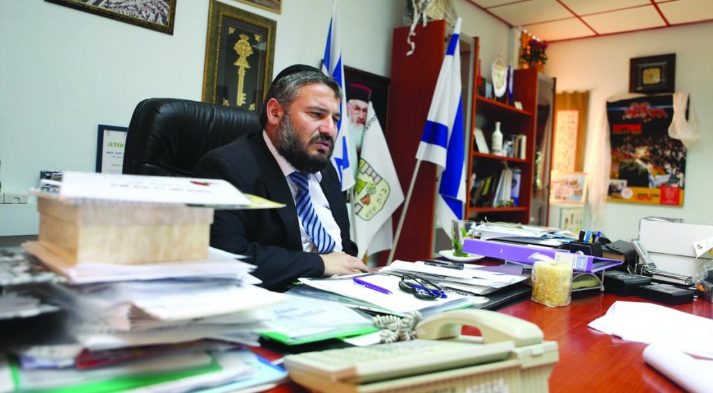 Beit Shemeh Mayor Moshe Aboutbul (Flash90)