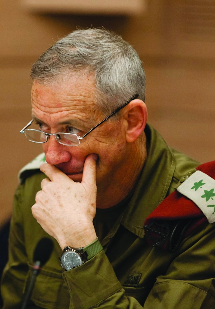 IDF Chief of Staff Benny Gantz. (FLASH90)