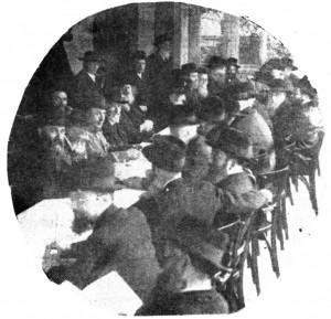 Moetzes Gedolei HaTorah at theThird Knessiah Gedolah, Marienbad, 1937.