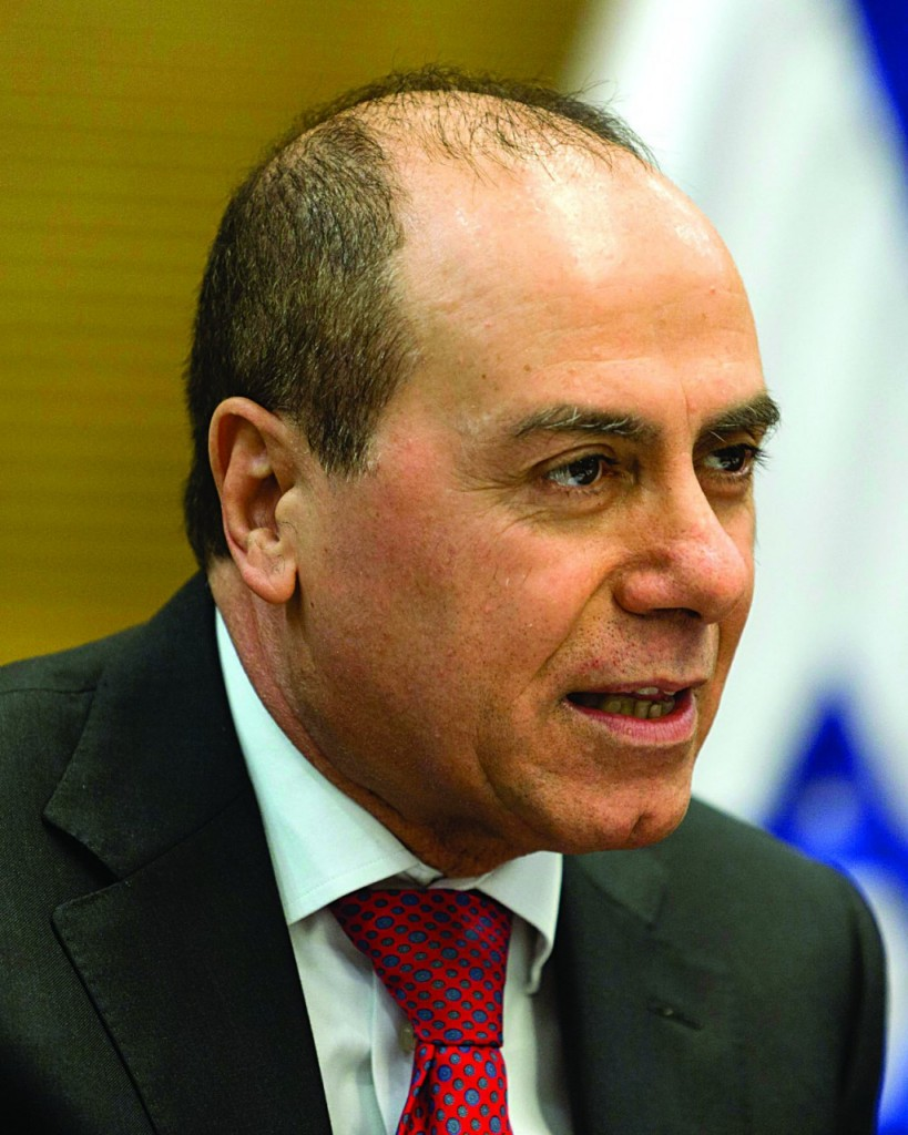Energy, Water and National Infrastructures Minister Silvan Shalom. (Flash 90)