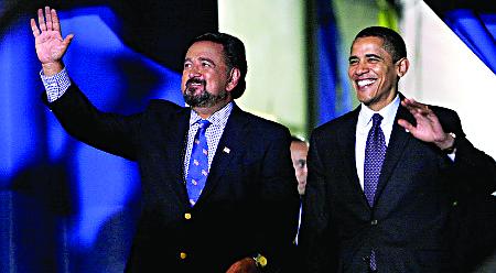 Governor Bill Richardson with President Barack Obama.